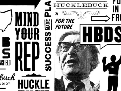 Hucklebuck all over box print