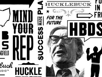 Hucklebuck all over box print