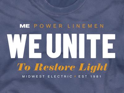 Power Lineman tee