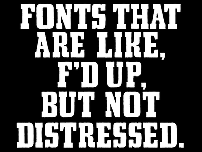 FoundFont in a nutshell fonts vintage fonts typography