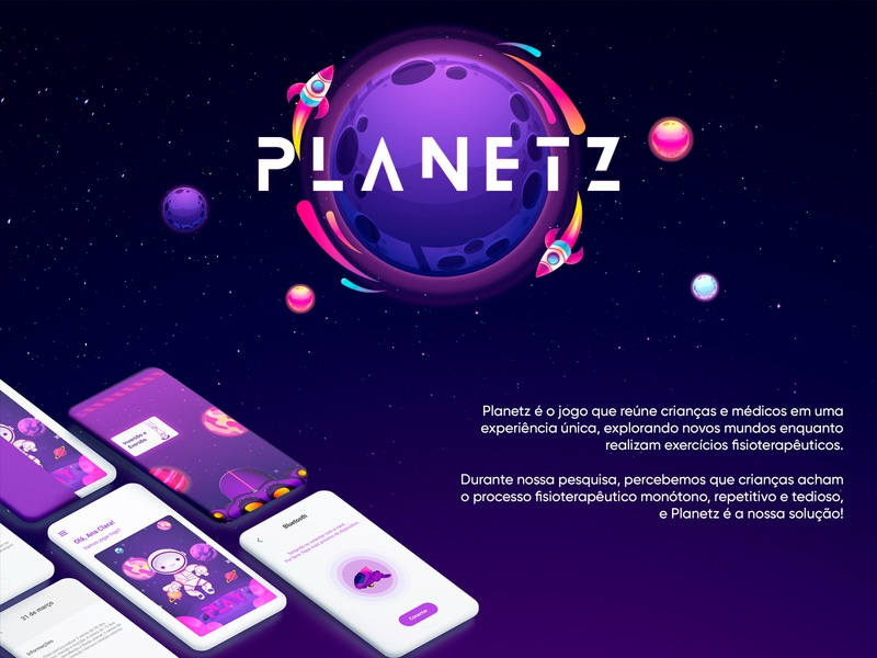 Planetz project ux research game mobile ui ux