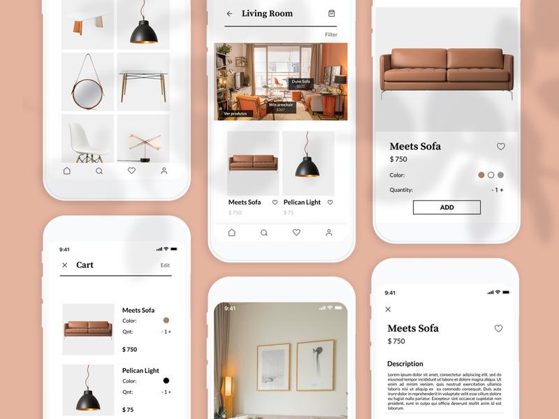 E-commerce UI decoration e-commerce shop e-commerce app e-comerce uxui uiux