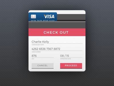 DailyUI002 - Credit Card Checkout dank checkout credit card 002 daily ui