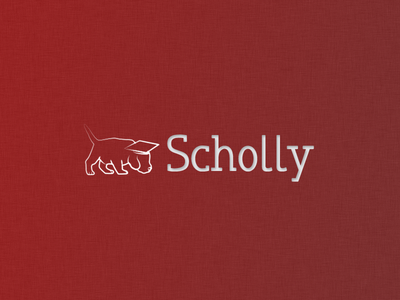 Original Scholly Logo throwback logo app scolarship scholly