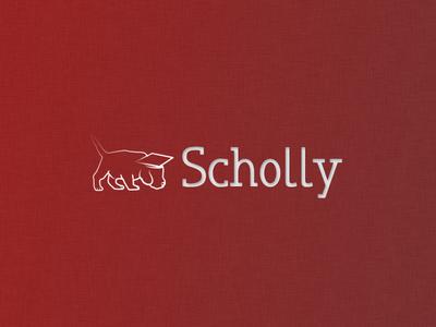 Original Scholly Logo throwback logo app scolarship scholly