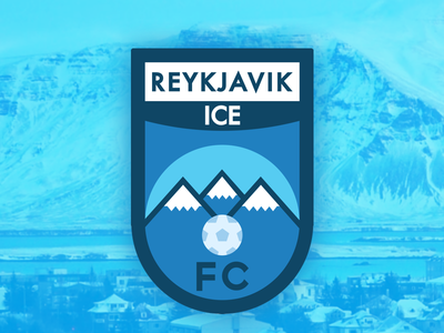 Reykjavik Ice FC football manager logo sport logos crest football