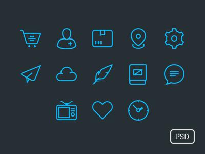 Free Icon Set freebie icons