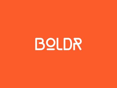 Boldr Logo logo wordmark orange