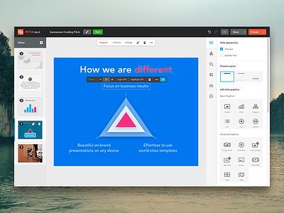 Presentation App Editor ui editor