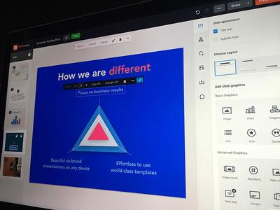 Presentation App Editor