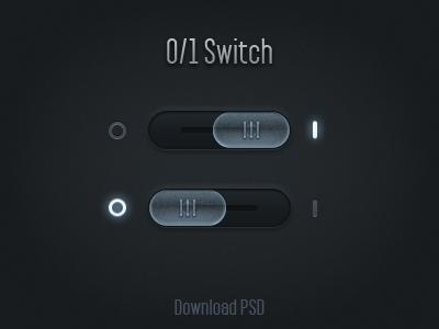 Switch Control PSD freebies switch psd download