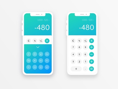 Daily UI Challenge Calculator