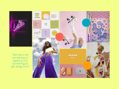 Goodreads redesign lime yellow daring bold redesign goodreads millenial colourful colours mood board branding design