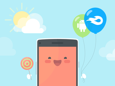 MediaFire launches new native Android app! mediafire android update app ui illustration cute