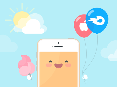 MediaFire launches new native iOS app! mediafire ios update app ui illustration cute