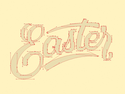Beziers type calligraphy font illustrator curves beziers lettering typography
