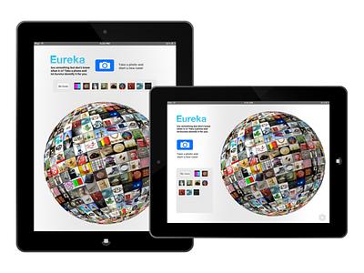 Eureka iPad app uxdesigner app ux ui uxdesign ipad ios app ios