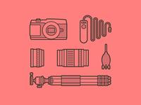 Camera Kit Icons