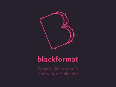 Blackformat Shirt Design museo slab azo sans shirt design black pink vector illustrator path logo blackformat
