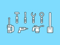 Lego Tool Icons