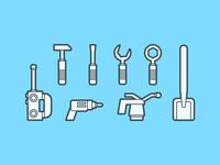 Lego Tool Icons