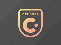 Crusher logo large