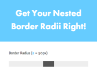 Get Your Nested Border Radii Right