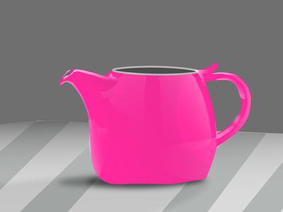 teapot teapot digital vector illustration design