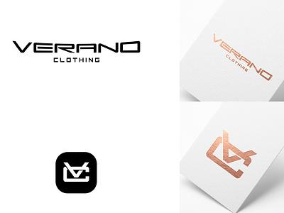 minimal sports fashion logo design abstract vc logo apparel modern logo clothing logo luxury logo logodesign typographic logo minimal logo fashion logo logo design minimalist logo logo sports fashion