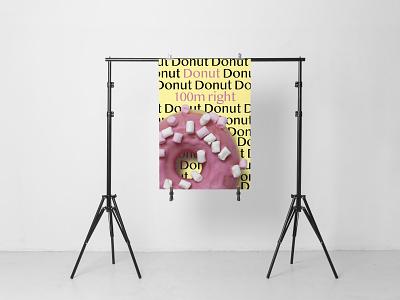Donut Shop advertdesign posterdesign graphicdesign design poster shop donut
