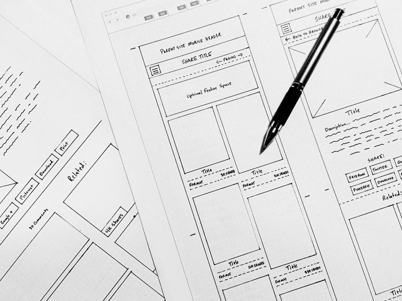 Wireframes interface grid website ecommerce mobile clean wireframe sketch web ui design ux