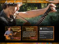 Web Design: AntonSimper.com