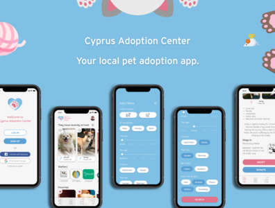 Adoption app - Cyprus Adoption Center