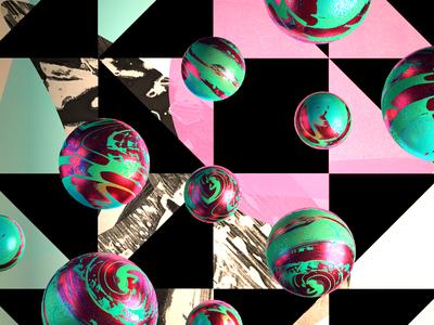 Blowin Bubbles render blender cgi 3d