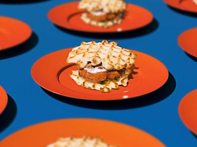 Pop Chicken pattern bold pop chicken waffle bold move white castle slider