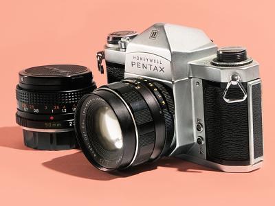 Honeywell pentax honeywell studio photography camera