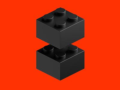 2x2_002 bricks lego 3d cgi blender