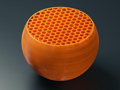 Cross Section plastic printing 3d blender cgi render