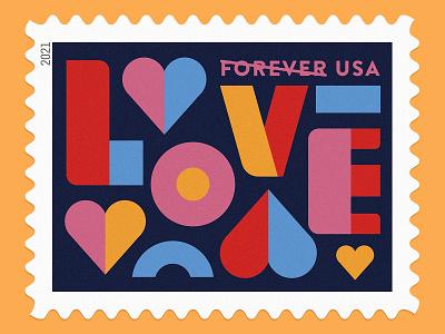 Love Stamp <3 lovely valentines valentine heart postal service stamp love usps