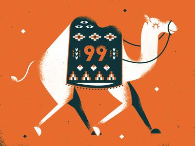99 99 animal pattern illustration dubai camel
