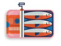 Sardines b