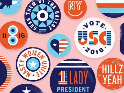 pantsuit swag campaign politics president imwithher democrat election vote button america usa clinton hillary