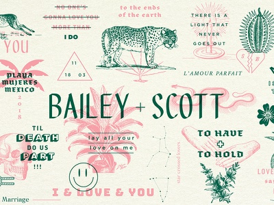 Wedding Website mexico illustrations love website marriage wedding invite invitation wedding