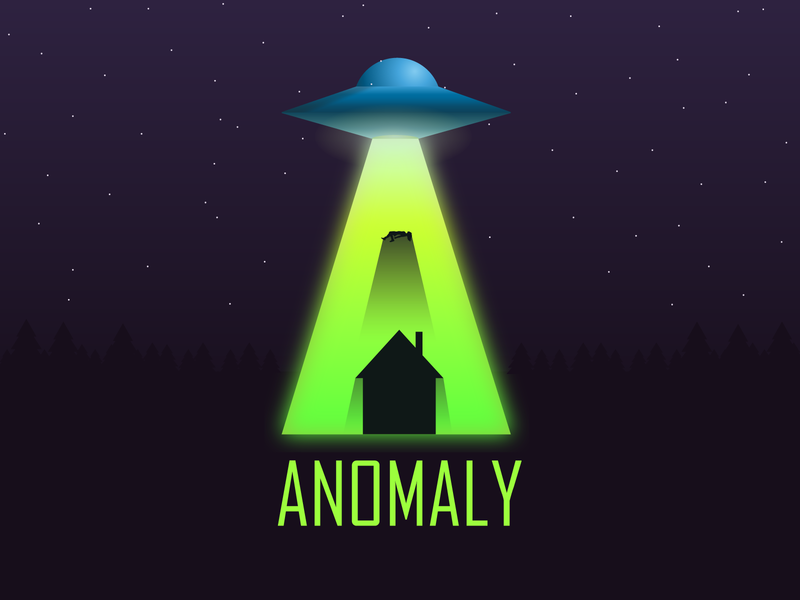 UFO Anomaly fringemerch maximfringe illustration art tshirts xfiles aliens anomaly ufo