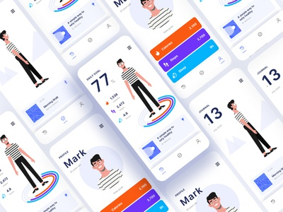 Tracking App illustration sketch landing page freelancer figma adobexd xd freebies source file free freebie