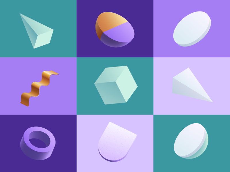 Free 3D Figma Shapes freebie-friday dribbble download shapes 3d figmatemplates figma freefigma free 3d freebie