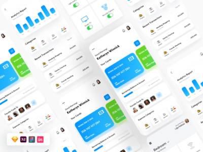 Bank Finance UI banking dashboard bankingapp xd design figma sketch xd finance wallet analytics banking