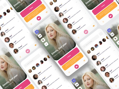 Free App UI Dating Chat landing page sketch dating website dribbble featured free ui freebie dating