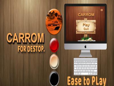 Carrom For Destop