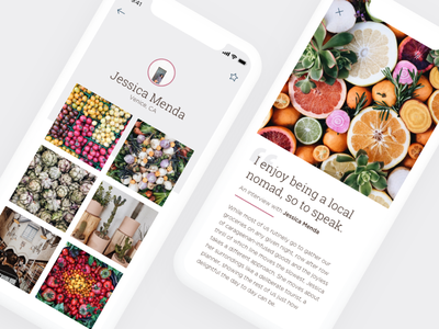 Daily UI #074 – App Download dailyui minimalistic minimal medium instagram story editorial grid photo